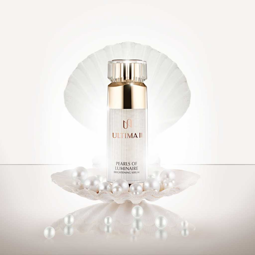 Pearls of Luminaire Brightening Serum by Ultima II, Skincare Antipollutan Agar Kulit Wajah  Tidak Mudah Kusam
