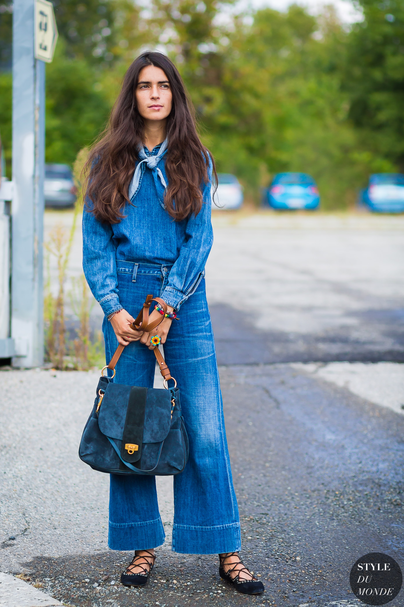 Let's Try: Denim on Denim Outfit