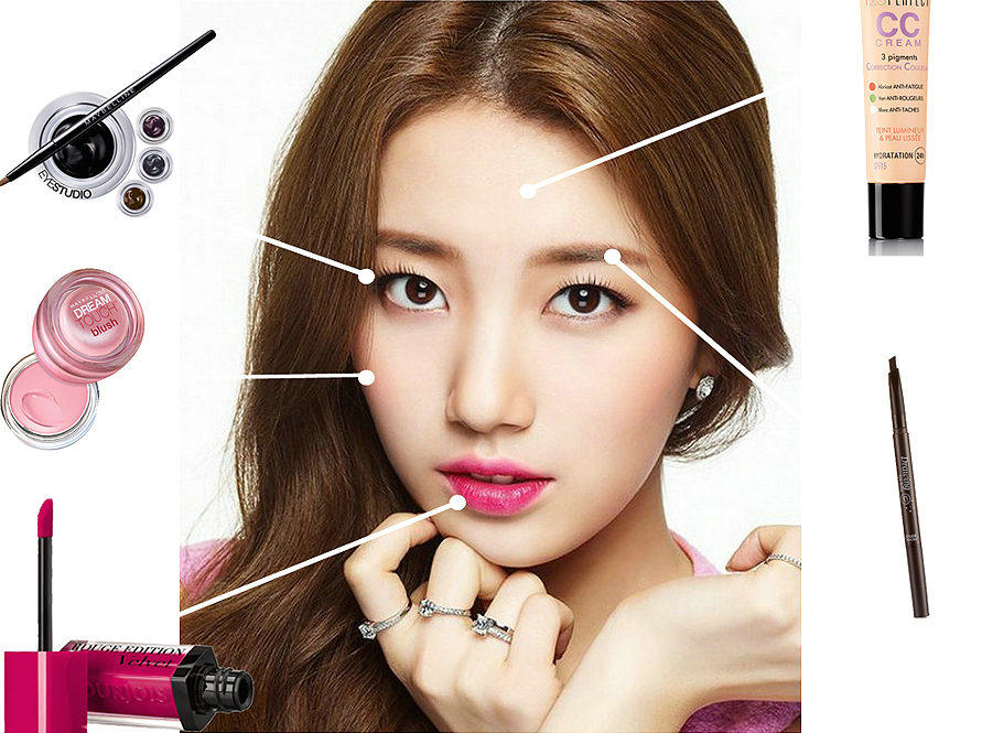 Makeup Natural Ala Personil Girlband Kpop - Suzy Miss A - Facetofeet